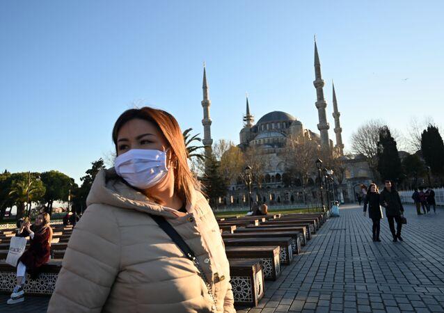 Koronavirüs - İstanbul - maske