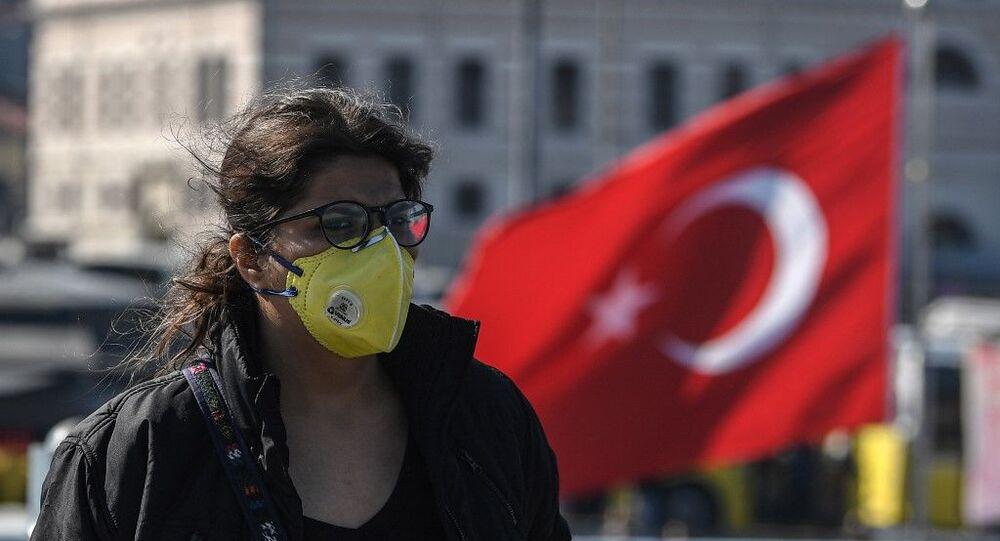 Koronavirüs - İstanbul - Türkiye - maske