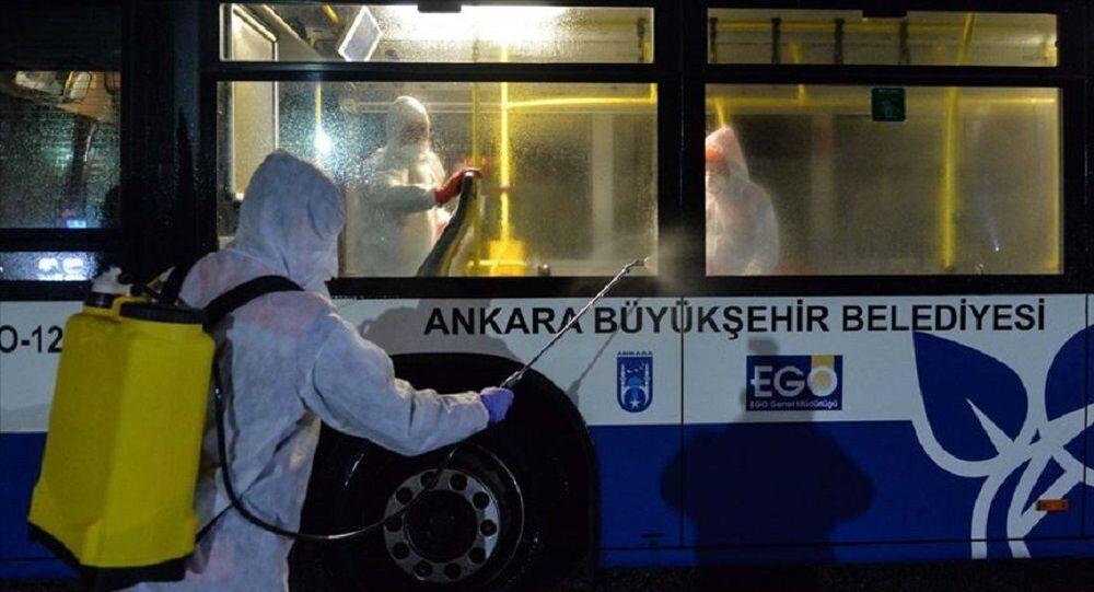Ankara'da koronavirüs önlemi