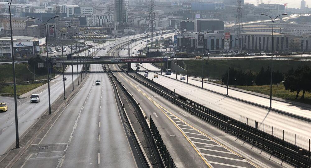 İstarbul trafik yoğunluğu yüzde 1