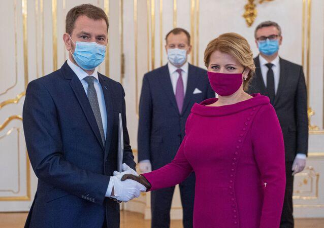 Slovakya'dayeni başbakan resmen OLANO lideri Igor Matovič oldu.SlovakyaCumhurbaşkanı Zuzana Caputova, başbakanlık görevini Igor Matovič'e verdi.