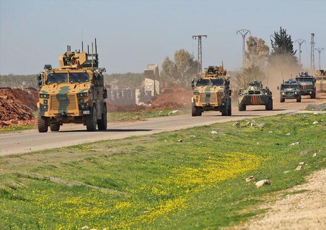 İdlib'de Rusya ile ikinci ortak kara devriyesi