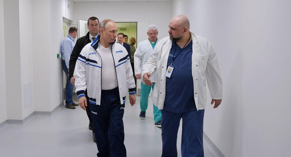 Protsenko, hastanenin Avrupa standartlarında olduğunun altını çizdi.