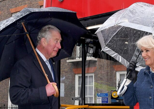 İngiltere Veliaht Prensi Charles ve  Cornwall Düşesi Camilla Parker Bowles