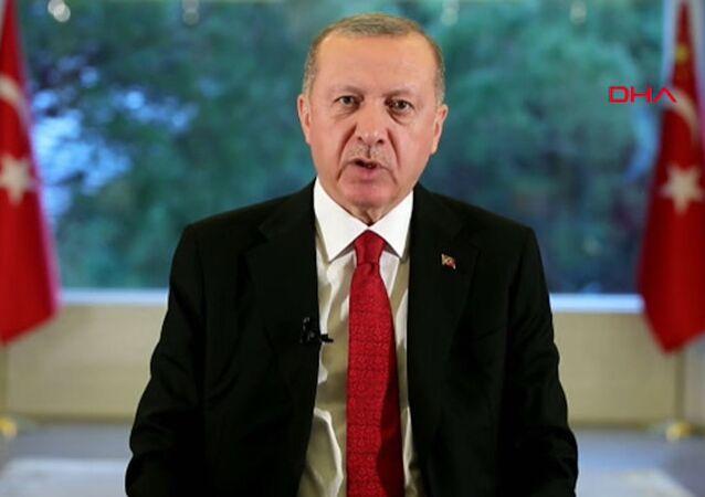 Cumhurbaşkanı Erdoğan- Ulusa Sesleniş konuşması