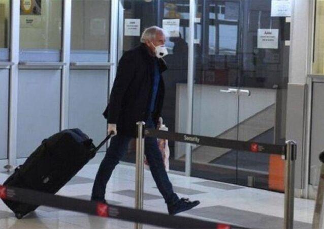 Fenerbahçe Beko'nun Başantrenörü Zeljko Obradovic ailesiyle birlikte ülkesi Sırbistan'a döndü.
