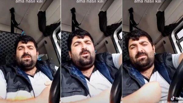 TIR şoförü Malik Baran Yılmaz - Sputnik Türkiye