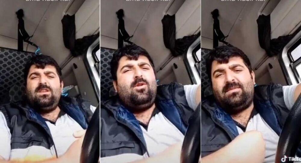 TIR şoförü Malik Baran Yılmaz