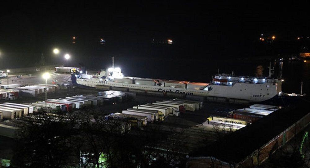 Ukrayna'dan gemiyle gelen 18 TIR şoförü daha karantina altına alındı