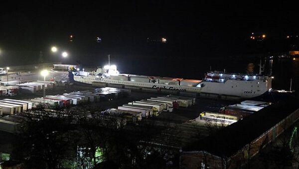 Ukrayna'dan gemiyle gelen 18 TIR şoförü daha karantina altına alındı - Sputnik Türkiye