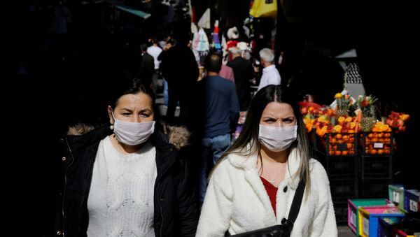 Koronavirüs - İstanbul - maske - Sputnik Türkiye