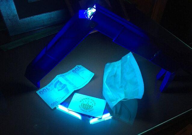 Ultraviyole ışınlarıyla koronavirüsü öldüren cihaz