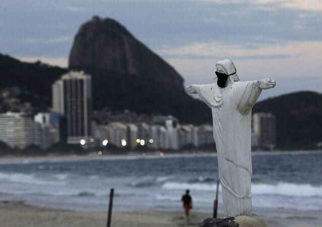 Koronavirüs günlerinde Rio de Janeiro - Brezilya