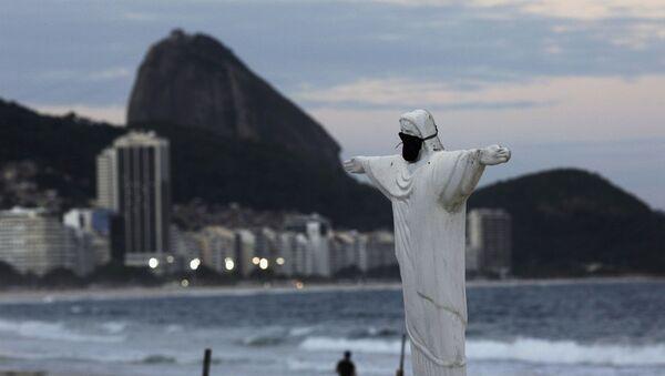 Koronavirüs günlerinde Rio de Janeiro - Brezilya  - Sputnik Türkiye