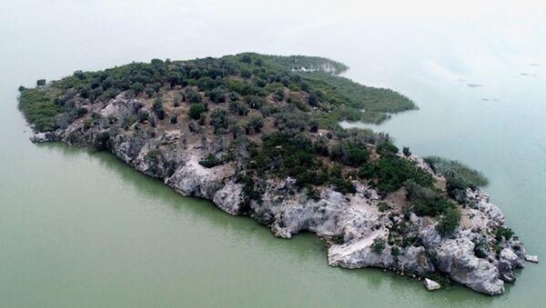 Uluabat Gölü'ndeki 45 dönümlük ada - Sputnik Türkiye