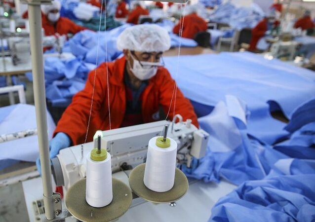 Hükümlülerden sağlık çalışanlarına 541 bin tıbbi malzeme desteği