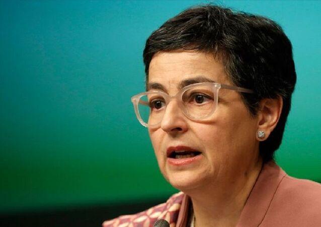 İspanya Dışişleri Bakanı Arancha Gonzalez Laya