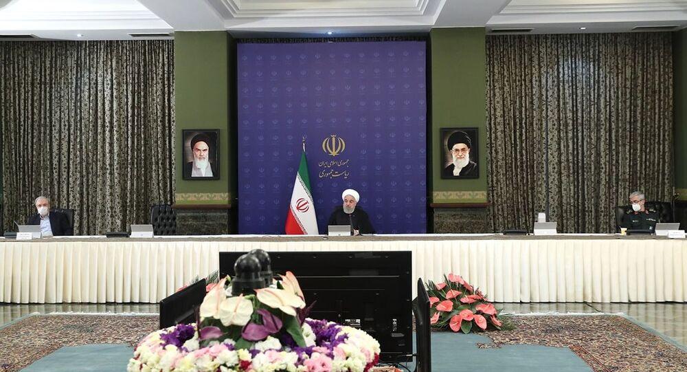 Hasan Ruhani, Koronavirüs ile Ulusal Mücadele Kurulu Toplantısı