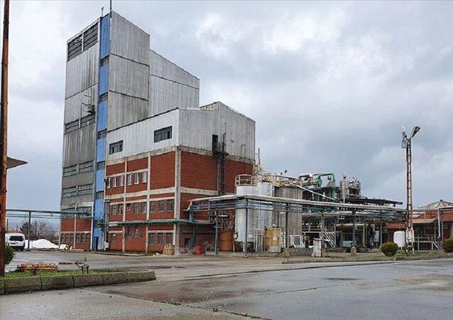 14 yıl atıl kalan etil alkol fabrikası