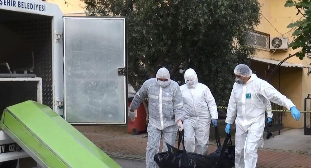 Arkadaşını ziyarete gittiği evde öldü, Kovid-19 testi yaptırdığı ortaya çıktı - Antalya