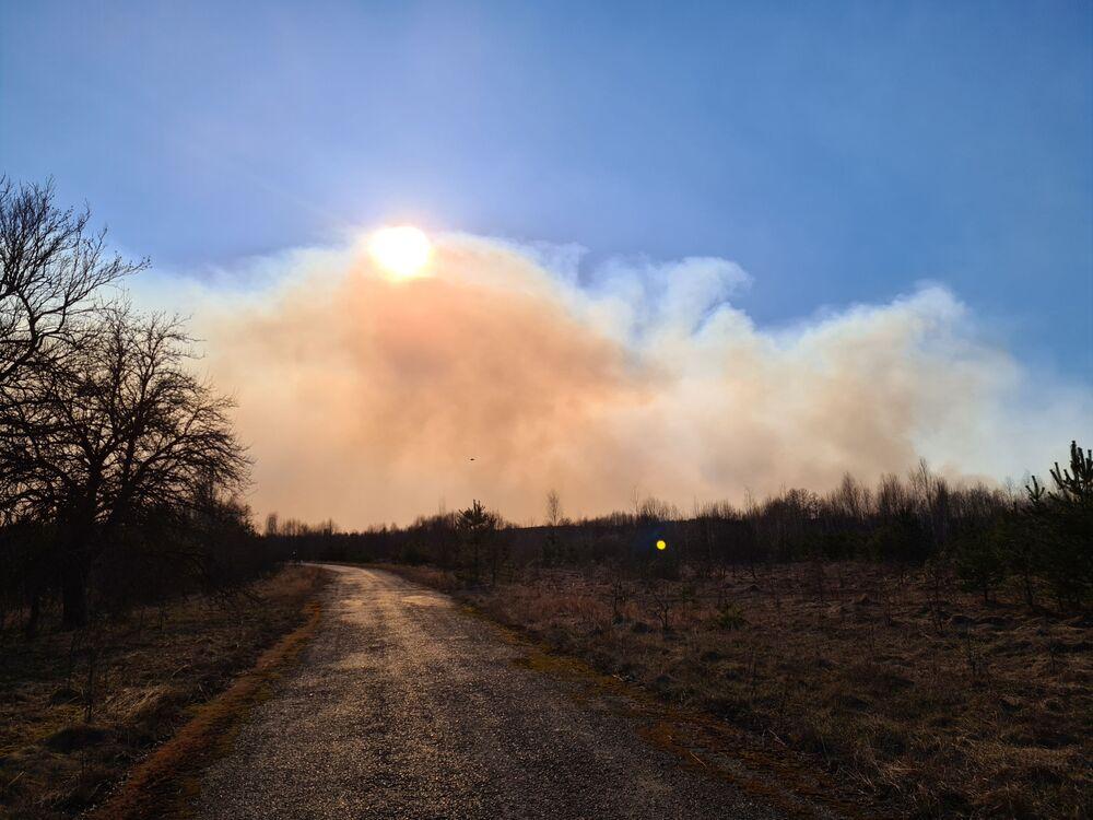Ukrayna Devlet Ekoloji İnceleme Kurumu Başkanvekili Yegor Firsov, yangınla birlikte bölgedeki radyasyon seviyesinin 16.5 kat arttığını, normali 0.14 olan değerin 2.3 olarak ölçüldüğünü ifade etti.