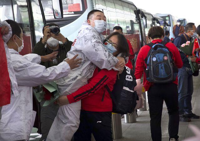 Çin - Vuhan - sağlık çalışanı