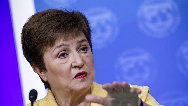 IMF Başkanı Kristalina Georgieva - Sputnik Türkiye