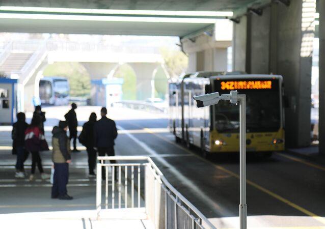 Metrobüs - termal kamera