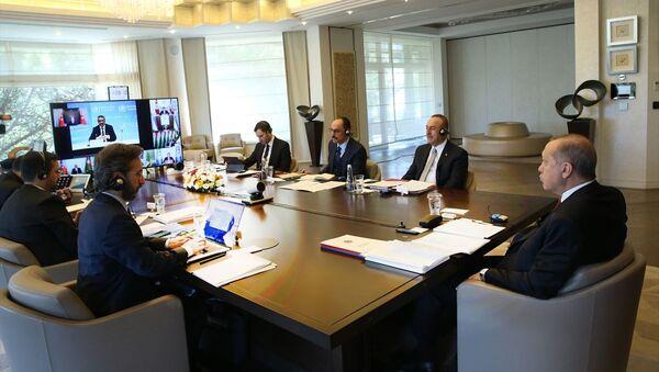 Cumhurbaşkanı Erdoğan - Türk Konseyi Zirvesi - Sputnik Türkiye