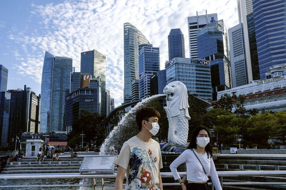3.  5 Ocak'ta Çin dışındaki ilk  vaka Singapur'da görüldü.
