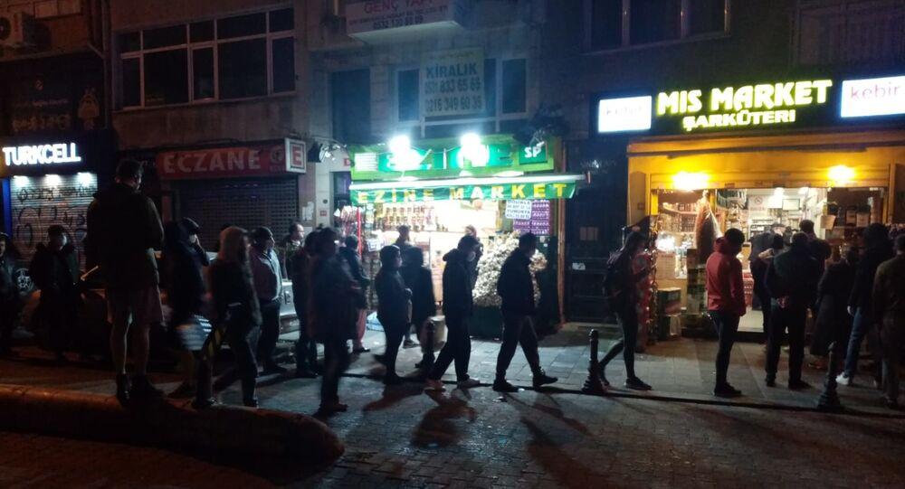 2 günlük sokağa çıkma yasağı kararı İstanbul sokaklarında yoğunluk