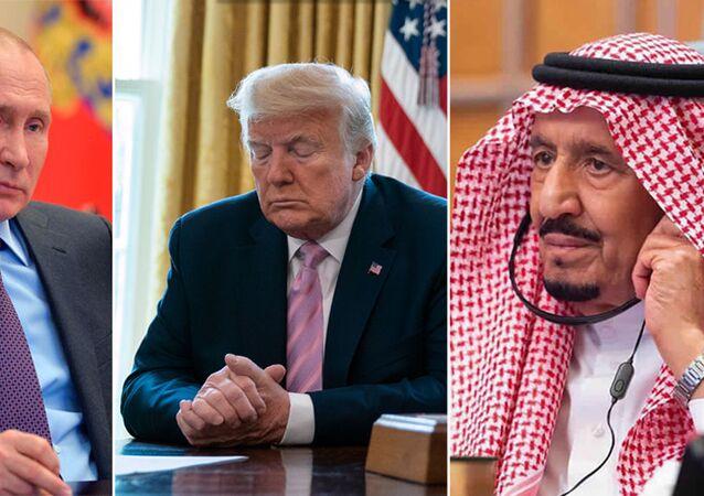 Putin -Trump -Kral Selman