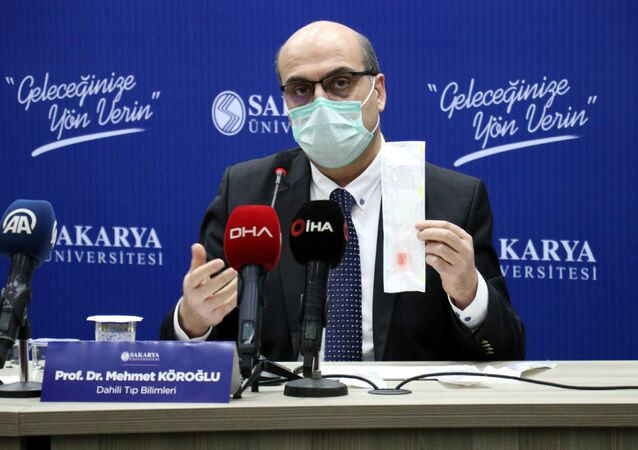 Sakarya'da yerli koronavirüs örnek alma seti geliştirildi