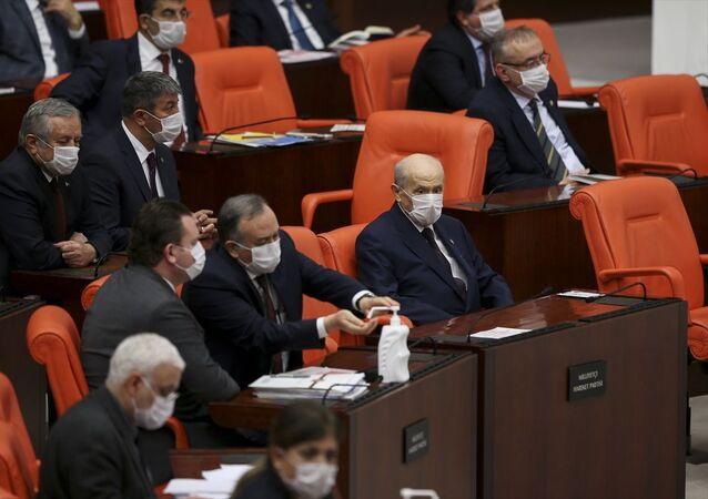 Türkiye Büyük Millet Meclisi (TBMM) Genel Kurulu, Başkanvekili Süreyya Sadi Bilgiç başkanlığında toplandı. Görüşmelere, MHP Genel Başkanı Devlet Bahçeli de katıldı.