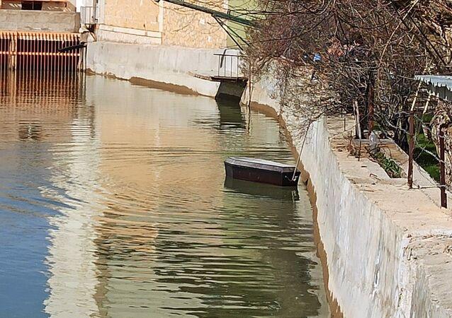 Çoruh Nehri'nde yüzen tabutlar panik yarattı
