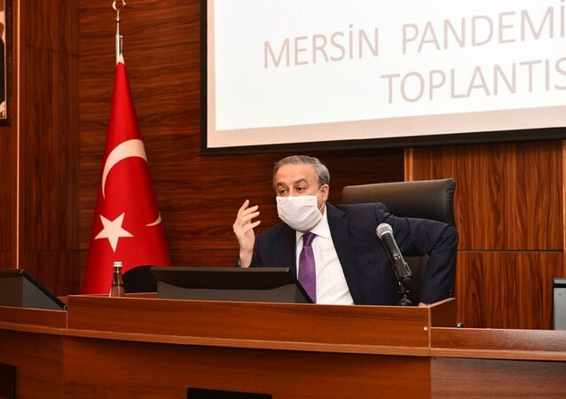 Mersin Valisi Ali İhsan Su