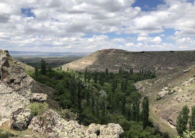 Kayseri'nin Melikgazi ilçesindeki tarihi, kültürel ve doğal varlıklarıyla ünlü Koramaz Vadisi, UNESCO Geçici Dünya Miras Listesi'ne girdi
