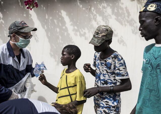 Afrika - aşı - koronavirüs