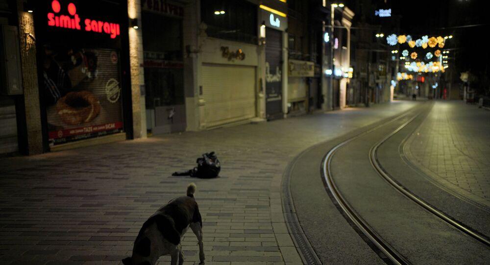 İstanbul'da sokağa çıkma kısıtlaması saatler 00.00 gösterdiği andan itibaren uygulanmaya başlandı. İstanbul'un yolları ve sokakları boş kaldı.