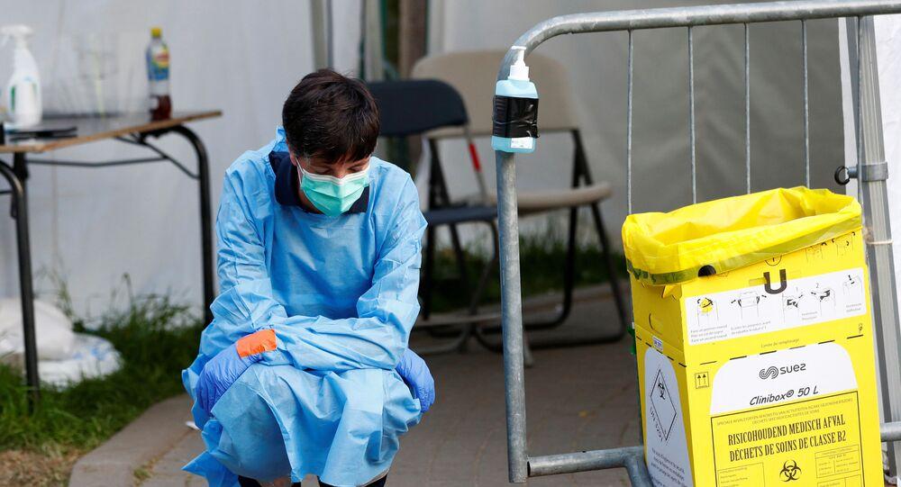 Belçika'da koronavirüs
