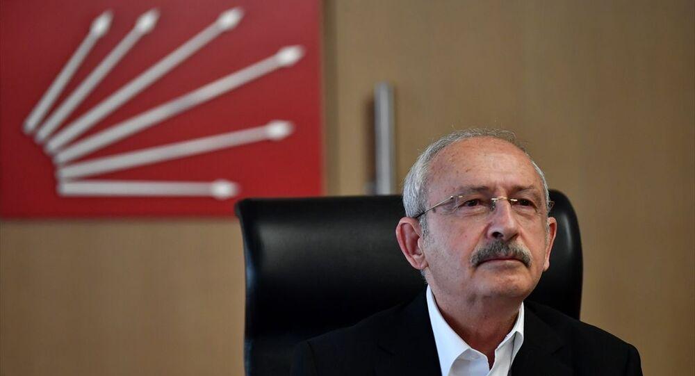 CHP Genel Başkanı Kemal Kılıçdaroğlu, video konferansla tarım sektörü temsilcileriyle görüştü.