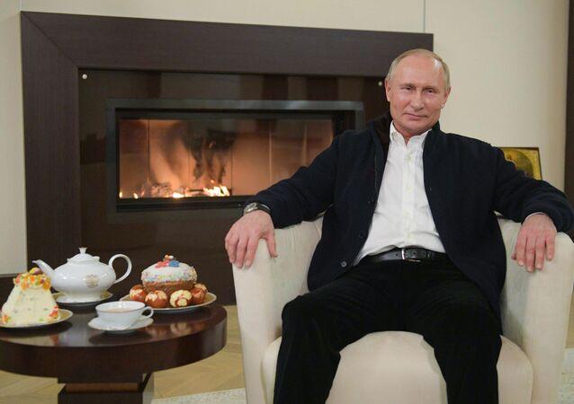 Vladimir Putin- Paskalya