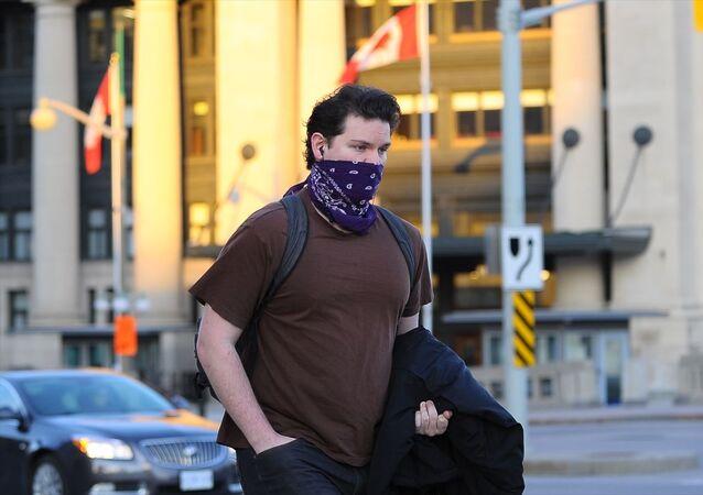 Kanada'nın başkenti Ottawa'da yeni tip koronavirüs (Kovid-19) salgını ile mücadele kapsamında alınan önlemlerin ardından caddelerin ve turistik mekanların tenhalaştığı görüldü.