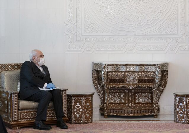 İran Dışişleri Bakanı Muhammed Cevad Zarif, Suriye Devlet Başkanı Beşar Esad