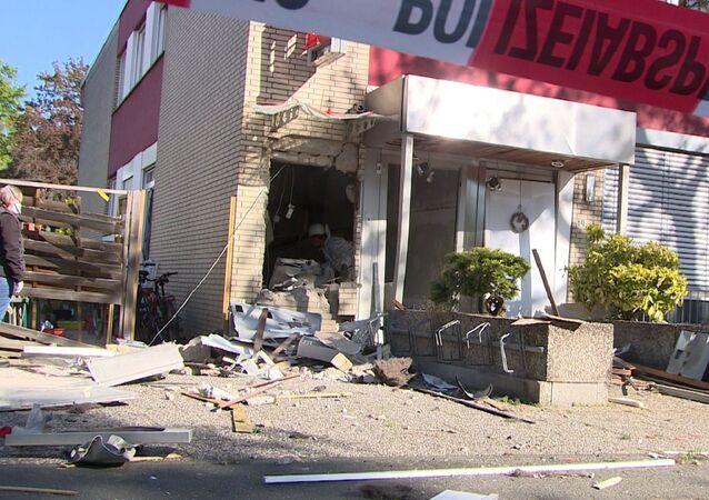 Almanya'da dört şehirde banka ATM'leri havaya uçurularak soyuldu