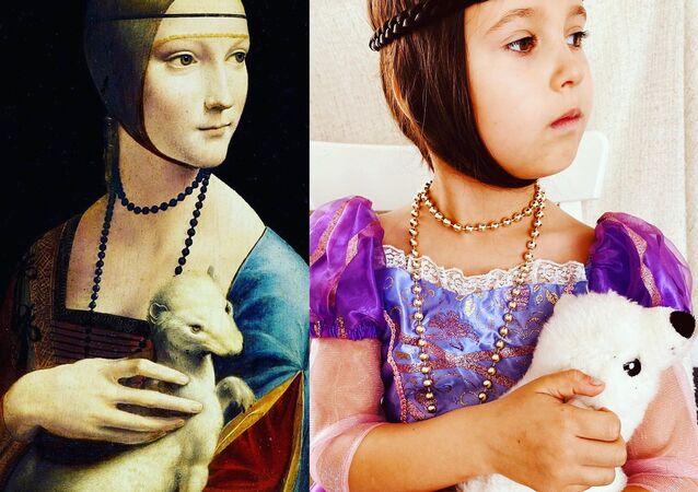 Kakımlı Kadın- Leonardo da Vinci