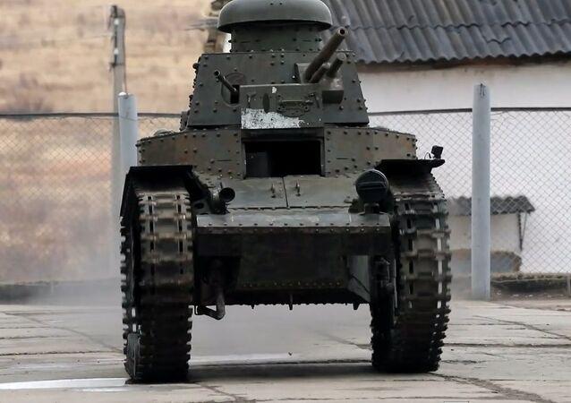 İlk Sovyet tankı MS-1 restore edildi