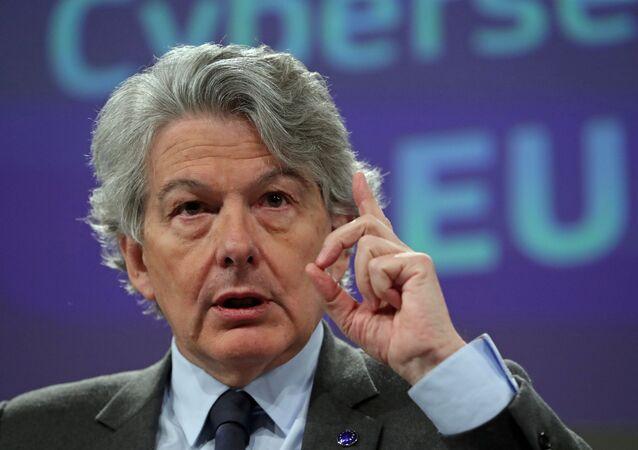 Avrupa Komisyonu'nunİç Pazarlar ve Hizmetlerden Sorumlu Üyesi Thierry Breton