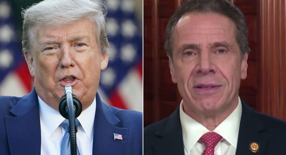 Trump ve New York Valisi Cuomo