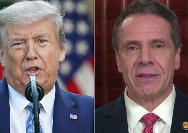 Trump ve New York Valisi Cuomo